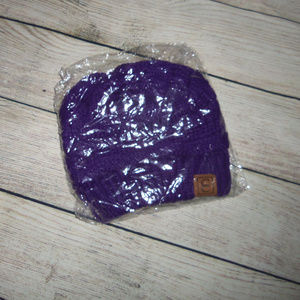 CC Beanie Hat - Purple